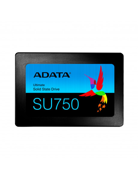 ADATA Ultimate SU750 1000 GB, SSD form factor 2.5, SSD interface SATA, Write speed 520 MB/s, Read speed 550 MB/s