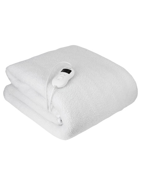 Camry Electirc heating under-blanket with timer CR 7422 Number of heating levels 5, Number of persons 1, Washable, Remote control, Syntetic wood, 60 W, White