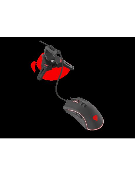 Genesis Mouse Bungee Vanad 300 Gaming, Black