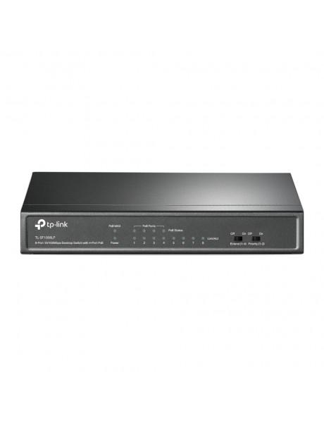 Switch TP-LINK TL-SF1008LP Desktop/pedestal 8x10Base-T / 100Base-TX PoE ports 4 TL-SF1008LP