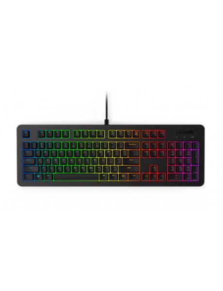 Lenovo Gaming Keyboard Legion K300 Wired via USB 2.0, Keyboard layout US English, Black