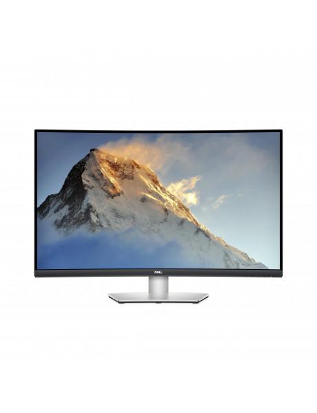 Dell Curved Monitor S3221QS 31.5 , VA, 4K UHD, 3840 x 2160, 16:9, 4 ms, 300 cd/m², Black/Silver