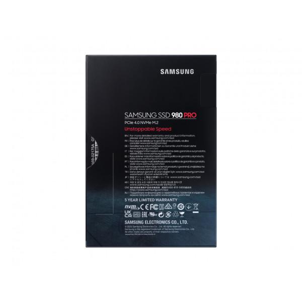Samsung 980 PRO PCle 4.0 NVMe M.2 500 GB SSD