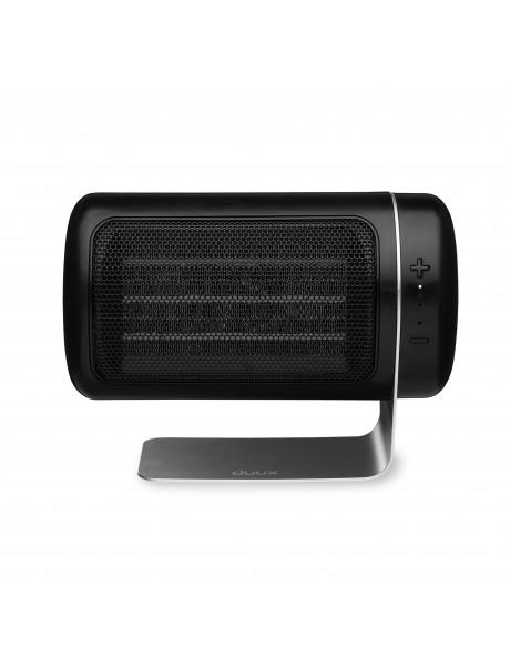 Duux Fan Heater Twist Number of power levels 3, Black, 1000-1550 W