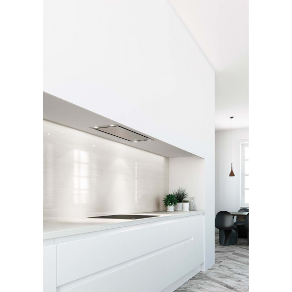 Novy Hood Mini Pure'line 820 Energy efficiency class A+, Canopy, Width 90 cm, 601 m³/h, Push buttons, Stainless steel, LED