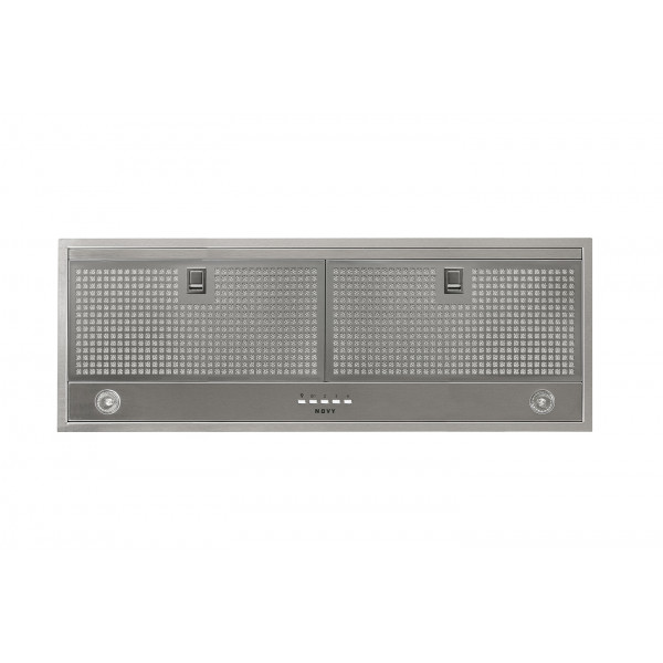 Novy Hood Essence 829 Energy efficiency class C, Canopy, Width 90 cm, 390 m³/h, Push buttons, Stainless steel, Halogen