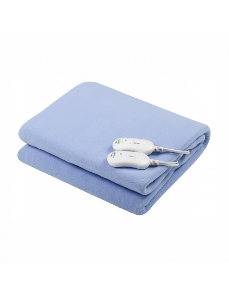 Gallet Electric blanket  GALCCH160 Number of heating levels 3, Number of persons 2, Washable, Remote control, Polar fleece, 2 x 60 W, Blue