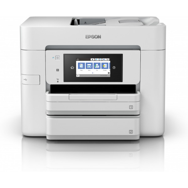 Epson Multifunctional Printer WorkForce Pro WF-4745DTWF Colour, Inkjet, A4, Wi-Fi, Light Grey