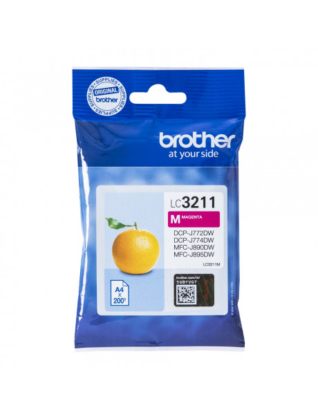 Brother LC3211M Inkjet cartridge, Magenta