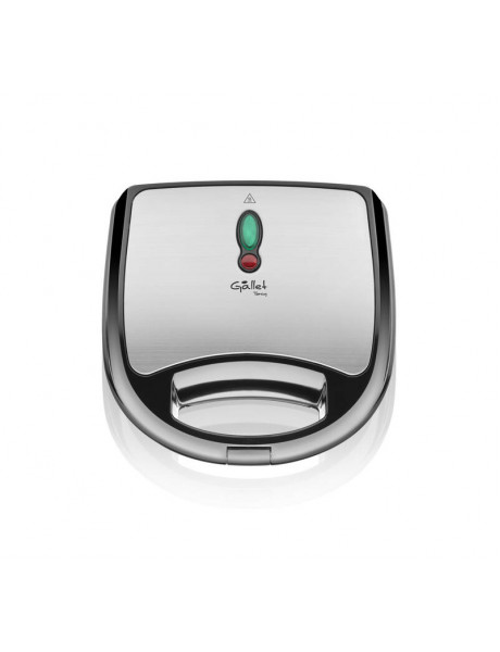 Gallet Sandwich Maker GALCRO616 Number of sandwiches 2, Number of plates 4, 700 W, Stainless steel