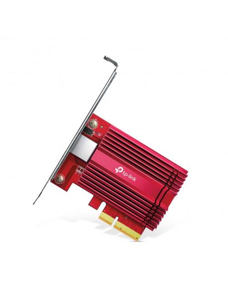 TP-LINK TX401 10/100/1000 Mbit/s, 1× PCI Express 3.0 x4, 1× RJ45 Gigabit/Megabit Port, Gigabit PCI Express Network Adapter
