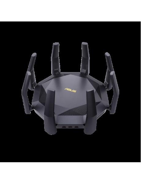 Asus AX6000 Dual Band Router RT-AX89X 802.11ax, 10/100/1000 Mbit/s, Ethernet LAN (RJ-45) ports 8, Antenna type 8xExternal, 2xUSB 3.1 Gen 1