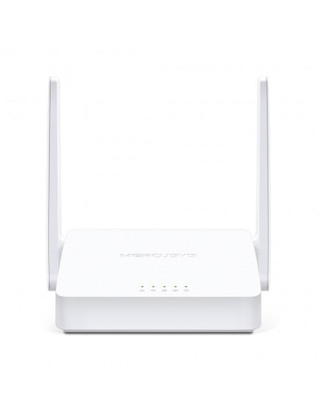 Mercusys Wireless N ADSL2+ Modem Router MW300D 802.11n, 300 Mbit/s, 10/100 Mbit/s, Ethernet LAN (RJ-45) ports 3, Antenna type  2×External, White