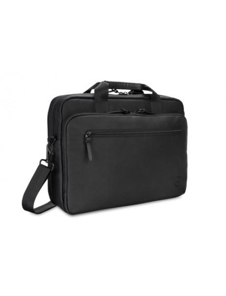 Dell Premier Slim 460-BCFT Fits up to size 15 , Black, Shoulder strap, Messenger - Briefcase