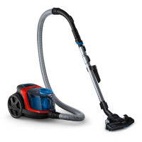 Philips Vacuum cleaner PowerPro Compact FC9330/09 Bagless, Dry cleaning, Power 650 W, Dust capacity 1.5 L, 76 dB, Red