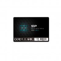 Silicon Power A55 128 GB, SSD form factor 2.5, SSD interface SATA, Write speed 420 MB/s, Read speed 550 MB/s