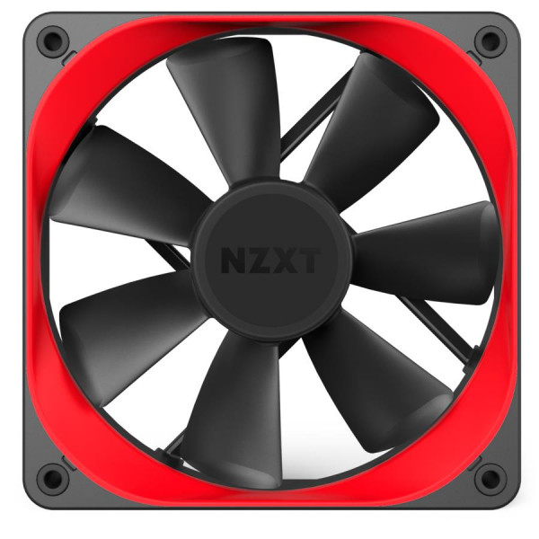 NZXT AER TRIM P120 Red, 2 pcs