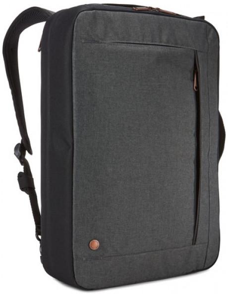 Case Logic Era Hybrid Briefcase Fits up to size 15.6 , Black, Messenger - Briefcase/Backpack, Shoulder strap,