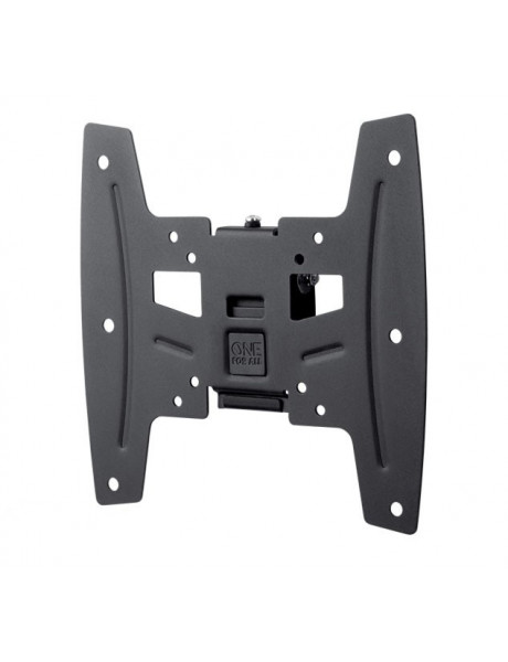 ONE For ALL Wall mount, WM 4221, 19-42 , Tilt, Maximum weight (capacity) 50 kg, VESA 75x75, 100x100, 200x100, 200x200 mm, Black