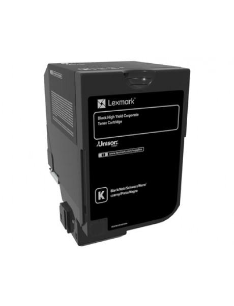 Lexmark 25K Corporate Toner Cartridge (CX725) Toner cartridge, Black